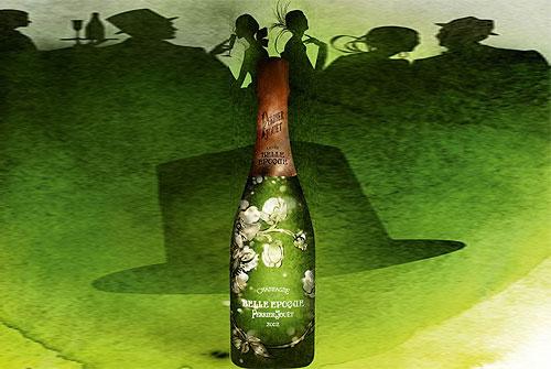 perrier-jout 香槟创造「时髦宴会」系列