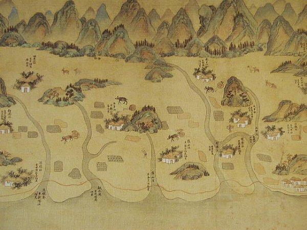 台湾老地图《康熙台湾舆图》