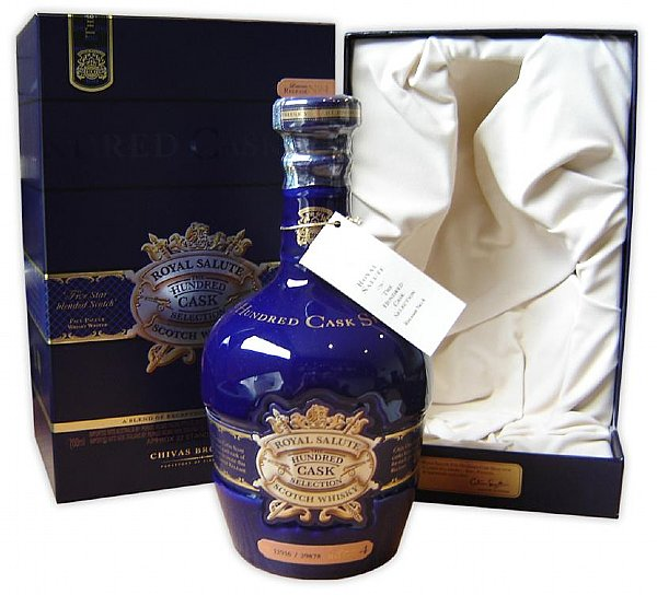 品饮心得10: royal salute : the hundred cask selection limited re