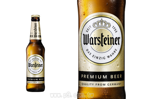 德国 沃胜 德式皮尔森拉格啤酒 330ml